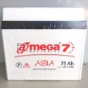 Акумулятор A MEGA BATTERIES ASIA 6СТ-75-Аз (0)