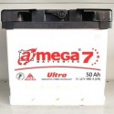 Аккумулятор A MEGA BATTERIES Ultra 6СТ-50-АЗ (1)