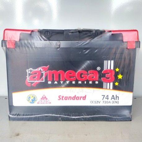 Аккумулятор A MEGA ENERGY BOX 6СТ-74-АЗ (0)