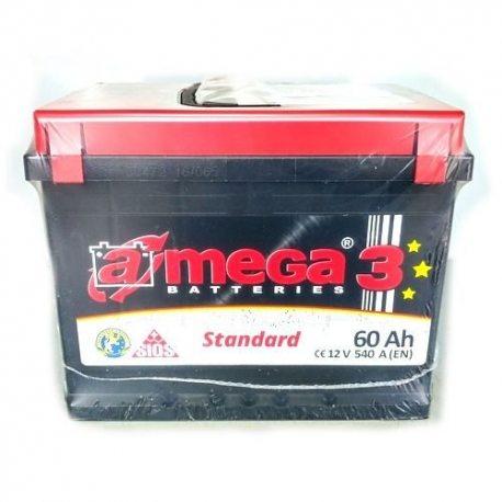 Аккумулятор A MEGA BATTERIES STANDARD 6СТ-60-Аз (1)