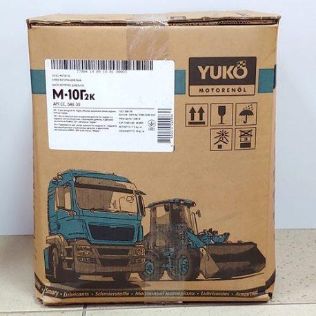 YUKOIL Масло моторное М-10Г2к SAE 30 API CС (ойлбокс20/1л)
