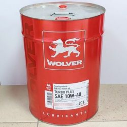Wolver Олива моторна TURBO PLUS 10W-40, 20л