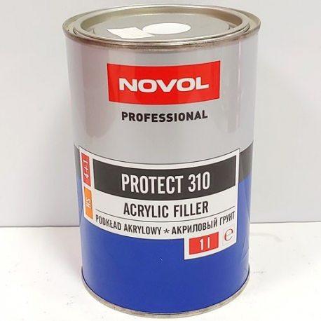 Novol Комплект Грунт акр 4+1 HS (310) білий, 1л