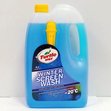 """Turtle Wax Жидкость противообледенительная, стеклоомывающая для авто """"Жидкое пламя"""", -20C, 4л"""