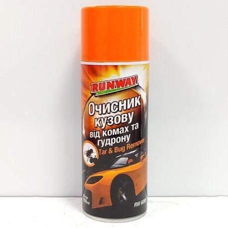 RUNWAY Очиститель кузова от насекомых и гудрона 500мл (RW6089)