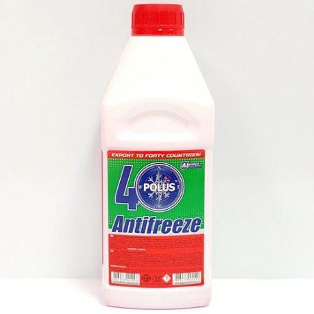 Полюс Антифриз -40, червоний, кан. п/е, 0.85кг