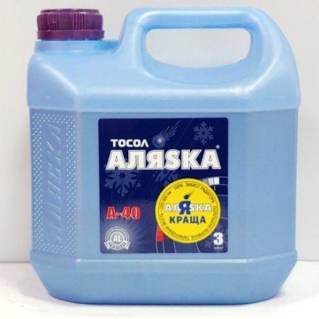 АЛЯСКА Тосол А40 (ЭКО), 3кг (5003)
