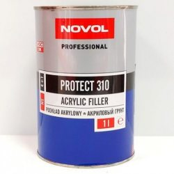 Novol PROTECT 310 акриловий грунт 4+1 сірий