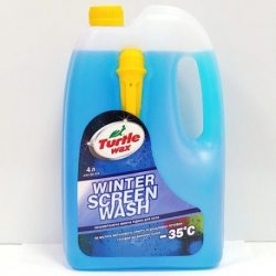 """Жидкость противообледенительная, стеклоомывающая д/автомобилей """"Жидкое пламя"""" Turtle Wax -35?C 4л"""