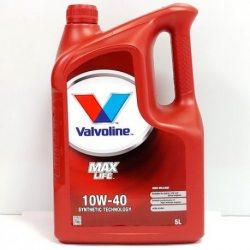 Valvoline олива моторна Maxlife SAE 10W-40/5л