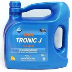 Масло моторное синтетическо ARAL High Tronic J 5W-30, 4л