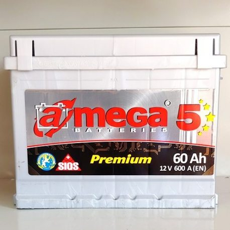 Аккумулятор A MEGA BATTERIES Premium 6СТ-60-АЗ (1)