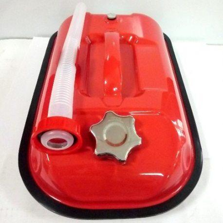Канистра металлическая горизонтальная ProSwisscar MJ-01 0.8мм с лейкой, 5л