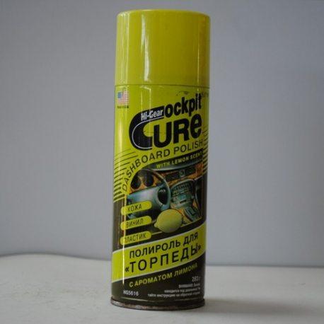 HI-Gear очиститель для торпедо с ароматом лимона, аэрозоль