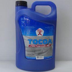 Гостовский Жидкость охлаждающая Тосол-40, 4,250кг