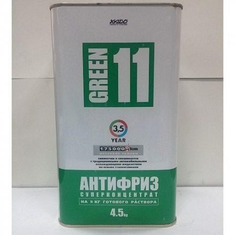 ХАДО Антифриз Green 11 (суперконцентрат), 4.5кг (ХА 50304)